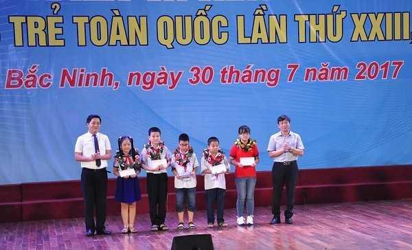 Tong ket Hoi thi Tin hoc tre toan quoc 2017 Thi sinh nho tuoi - Tổng hợp kết quả Hội thi Tin học trẻ toàn quốc năm 2017