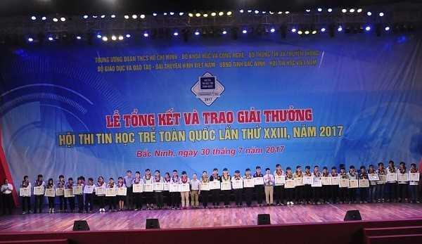 Tong ket Hoi thi Tin hoc tre toan quoc 2017 Trao giai Ba - Tổng hợp kết quả Hội thi Tin học trẻ toàn quốc năm 2017