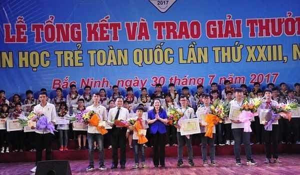 Tong ket Hoi thi Tin hoc tre toan quoc 2017 Trao giai Nhat - Tổng hợp kết quả Hội thi Tin học trẻ toàn quốc năm 2017