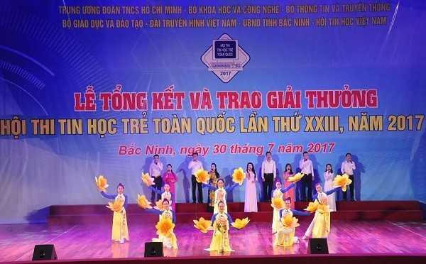 Tong ket Hoi thi Tin hoc tre toan quoc 2017 Van nghe - Tổng hợp kết quả Hội thi Tin học trẻ toàn quốc năm 2017