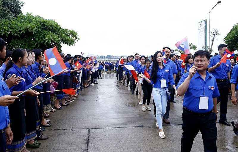 97791 Gặp gỡ Hữu nghị Thanh niên Việt Nam - Lào năm 2017