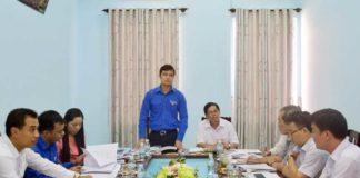 Đồng chí Bùi Quang Huy phát biểu đánh giá công tác chuẩn bị Đại hội