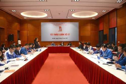 cac20dai20bieu20gop20yf - Nhiều ý kiến góp ý vào các nội dung tại tổ thảo luận, chiều 11/12