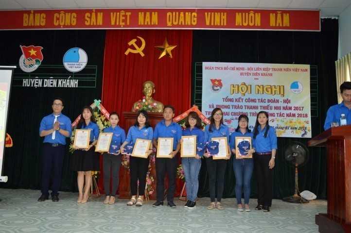 images 2018 01 dien khanh tong ket 2017 image009 d1482 - DIÊN KHÁNH: Hội nghị tổng kết công tác Đoàn, Hội và phong trào thanh thiếu nhi năm 2017,