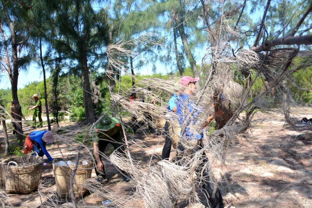 hinh 6 - Thả 4000 con cá giống tại rừng ngập mặn đầm Nha Phu