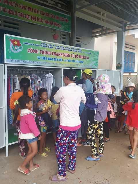 images 2018 03 cam ranh ngay doan vien 3 bc500 - CAM RANH: Tổ chức ngày đoàn viên - ra quân tình nguyện trao tặng tủ đồ nhân ái trong Tháng thanh niên năm 2018