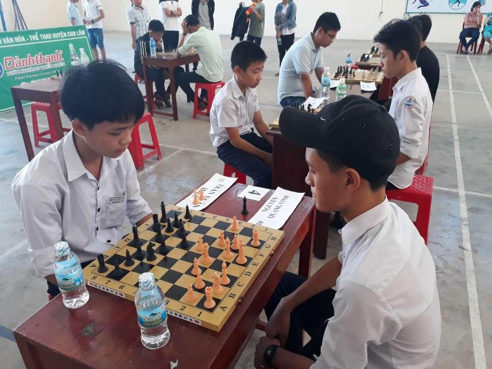 CAM LÂM: Giải cờ vua cho thiếu nhi trong dịp hè 2018