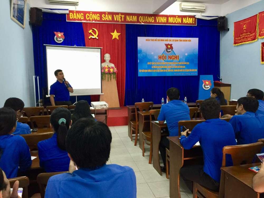 Tập huấn định hướng dư luận xã hội trong cán bộ đoàn, đoàn viên thanh niên Khối các cơ quan tỉnh năm 2018