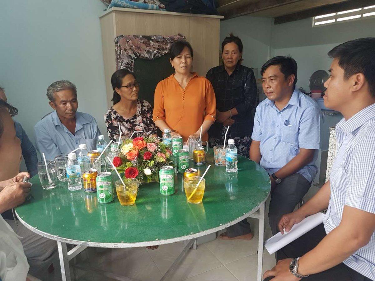 """4 - Bàn giao CTTN """"Xây dựng Nhà tình nghĩa""""  tại xã Vĩnh Hiệp, thành phố Nha Trang"""