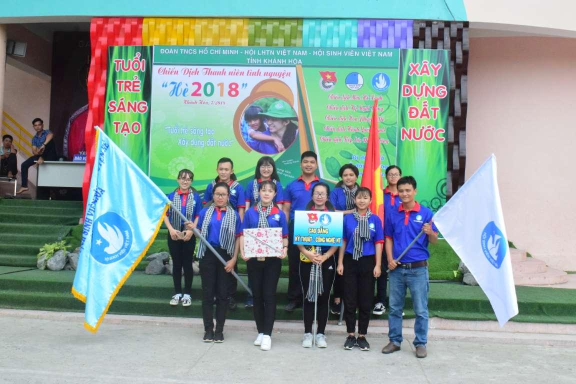 Lễ ra quân đợt cao điểm các chiến dịch Thanh niên tình nguyện Hè năm 2018