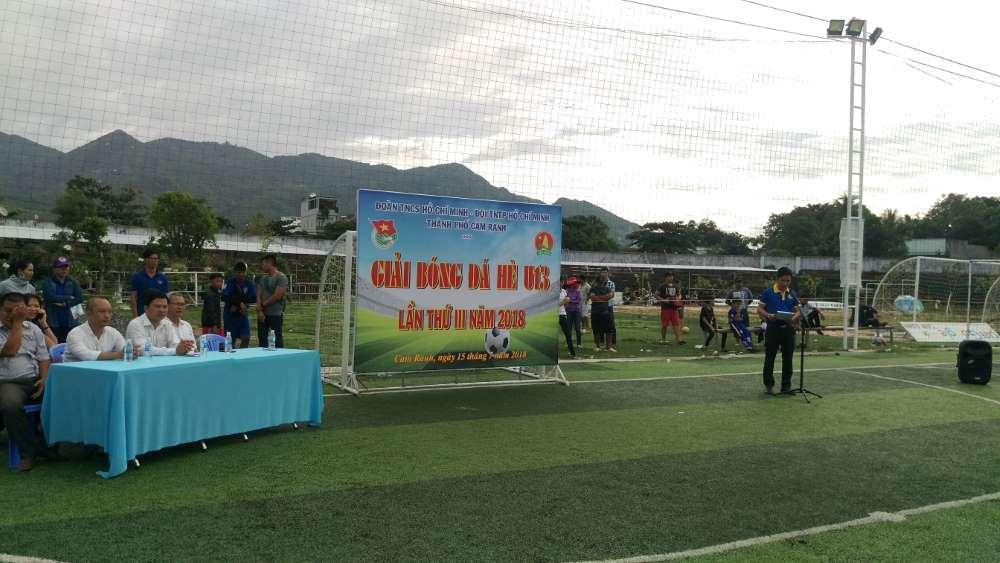 IMAG0003 - CAM RANH: Giải bóng đá hè U13 lần thứ III