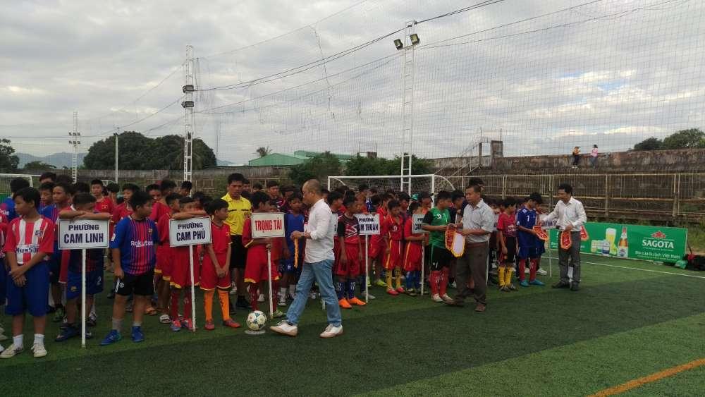 IMAG0008 - CAM RANH: Giải bóng đá hè U13 lần thứ III