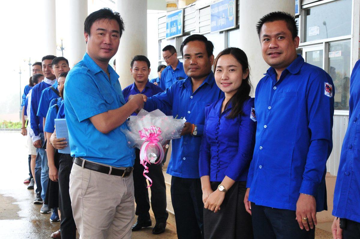 images5337217 APP 7162 - Sôi nổi chiến dịch Mùa hè xanh tại tỉnh Attapeu (Lào)