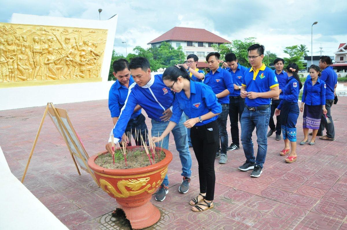 images5337219 APP 7190 - Sôi nổi chiến dịch Mùa hè xanh tại tỉnh Attapeu (Lào)