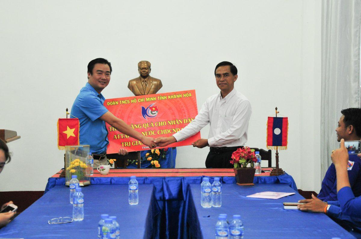 images5337223 APP 7223 - Sôi nổi chiến dịch Mùa hè xanh tại tỉnh Attapeu (Lào)