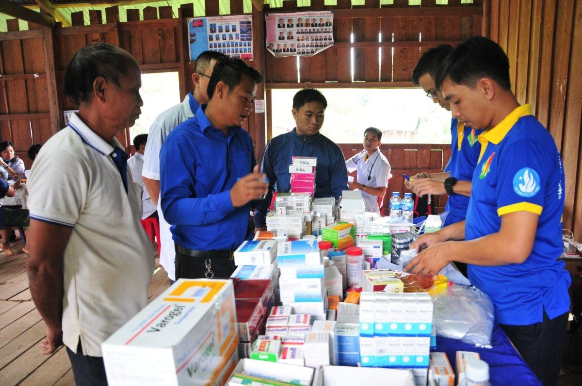images5337225 APP 7259 - Sôi nổi chiến dịch Mùa hè xanh tại tỉnh Attapeu (Lào)