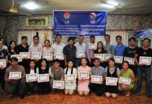 Sôi nổi chiến dịch Mùa hè xanh tại tỉnh Attapeu (Lào)