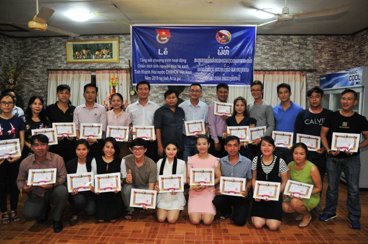 images5337231 APP 7432 - Sôi nổi chiến dịch Mùa hè xanh tại tỉnh Attapeu (Lào)