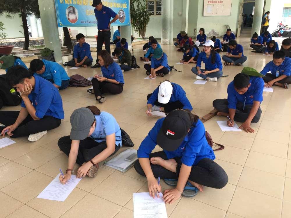 nhan thuc - NINH HÒA: Tổ chức thi Huấn luyện viên cấp thị xã Ninh Hòa đợt 3