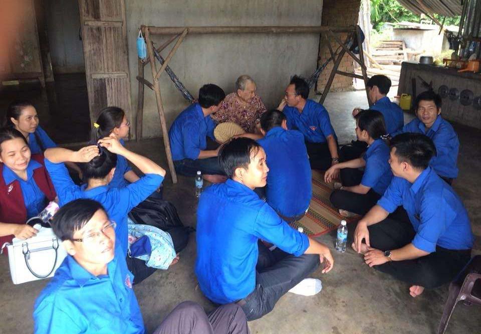 Mẹ Trần Thị Kiều, Thôn Ngọc Sơn, xã Ninh An