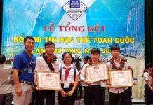 Hội thi tin học trẻ toàn quốc nă 2018