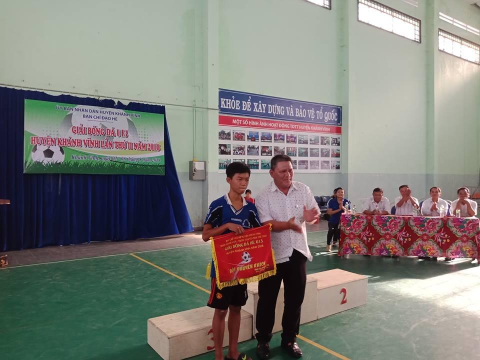 image013 1 - KHÁNH VĨNH: Giải bóng đá U13 hè lần thứ II năm 2018