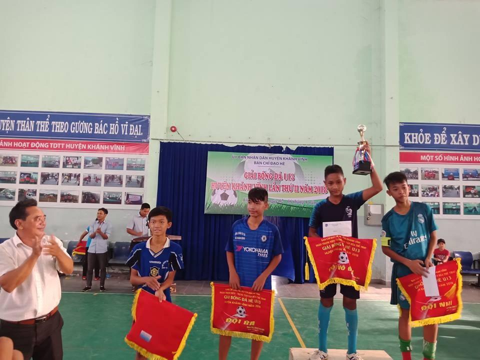 image015 1 - KHÁNH VĨNH: Giải bóng đá U13 hè lần thứ II năm 2018