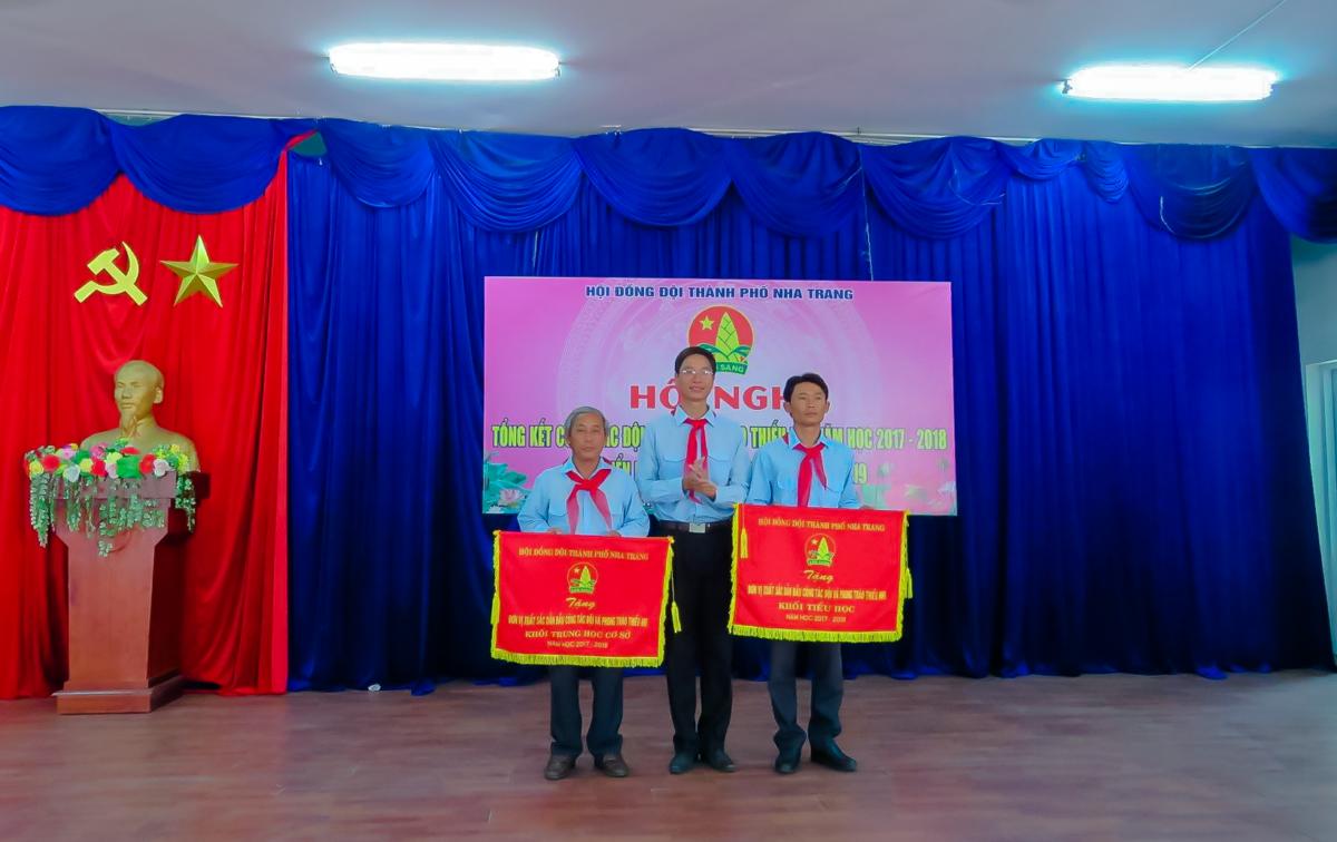12.09.18 THONG4 - Hội đồng Đội thành phố Nha Trang tổng kết công tác Đội và phong trào thiếu nhi năm học 2017-2018
