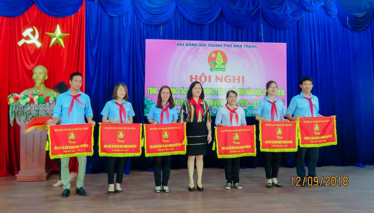 12.09.18 THONG6 - Hội đồng Đội thành phố Nha Trang tổng kết công tác Đội và phong trào thiếu nhi năm học 2017-2018