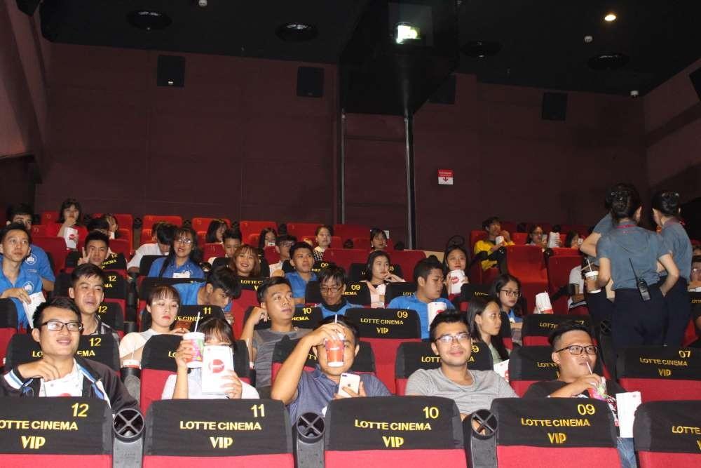 Chiếu phim miễn phí Lotte Cinema Nha Trang