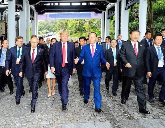 ctn tran dai quang apec 2017 crop 15375193630551591450756 - Hình ảnh Chủ tịch nước Trần Đại Quang trong những sự kiện nổi bật