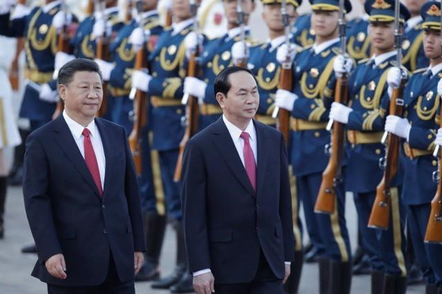 ctn tran dai quang tap can binh  15375180626991992963820 - Hình ảnh Chủ tịch nước Trần Đại Quang trong những sự kiện nổi bật