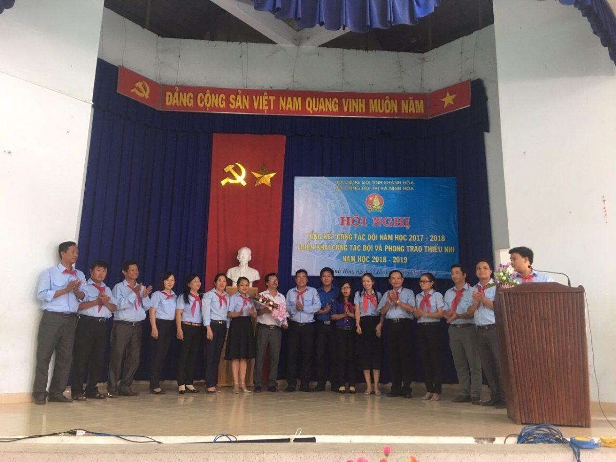 ra mat hoi dong doi nhiem ky 2017 2022 - NINH HÒA: Hội nghị triển khai công tác Đội và Phong trào thiếu nhi  năm học 2018 - 2019