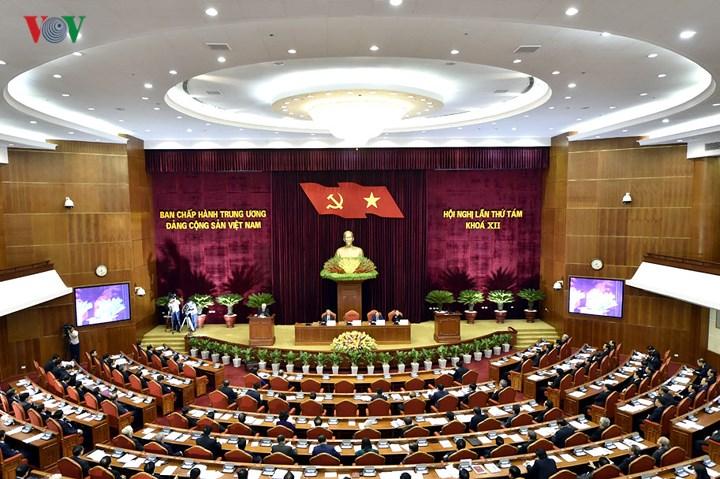 1 - Toàn cảnh khai mạc Hội nghị Trung ương 8 Khóa XII