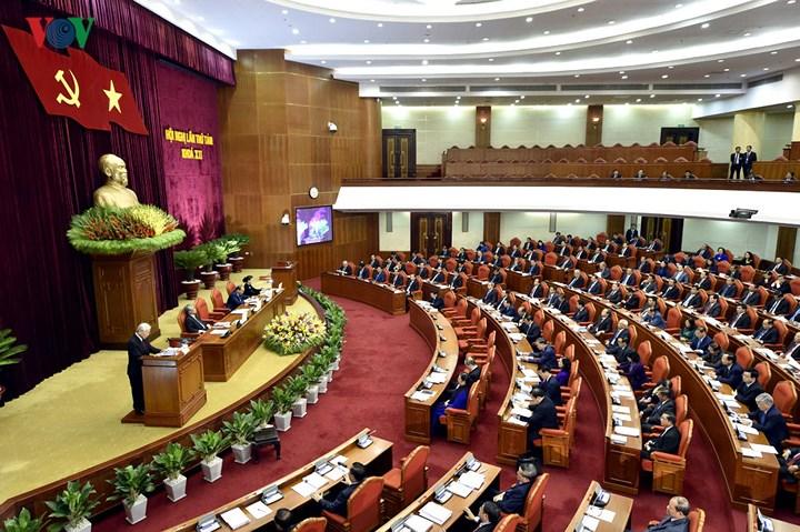 12 - Toàn cảnh khai mạc Hội nghị Trung ương 8 Khóa XII