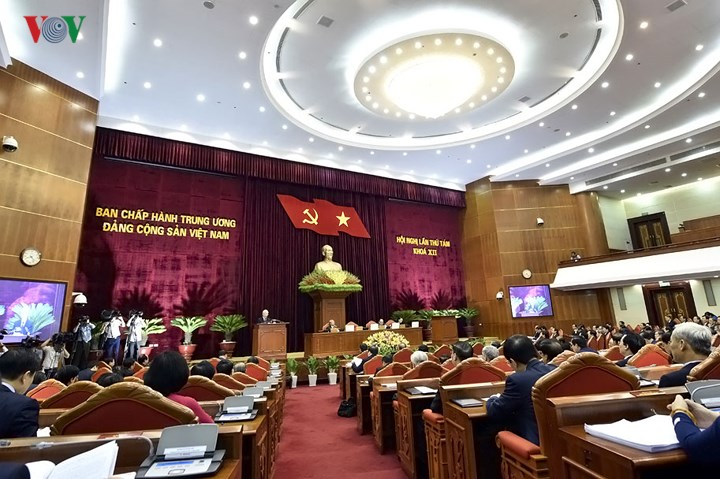 14 - Toàn cảnh khai mạc Hội nghị Trung ương 8 Khóa XII