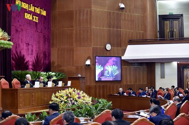 8 - Toàn cảnh khai mạc Hội nghị Trung ương 8 Khóa XII