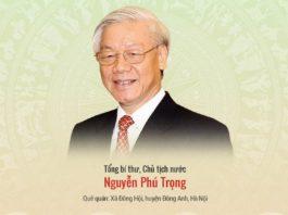 Lễ Tuyên Thệ Chủ Tịch Nước - Nguyễn Phú Trọng - ảnh đại diện