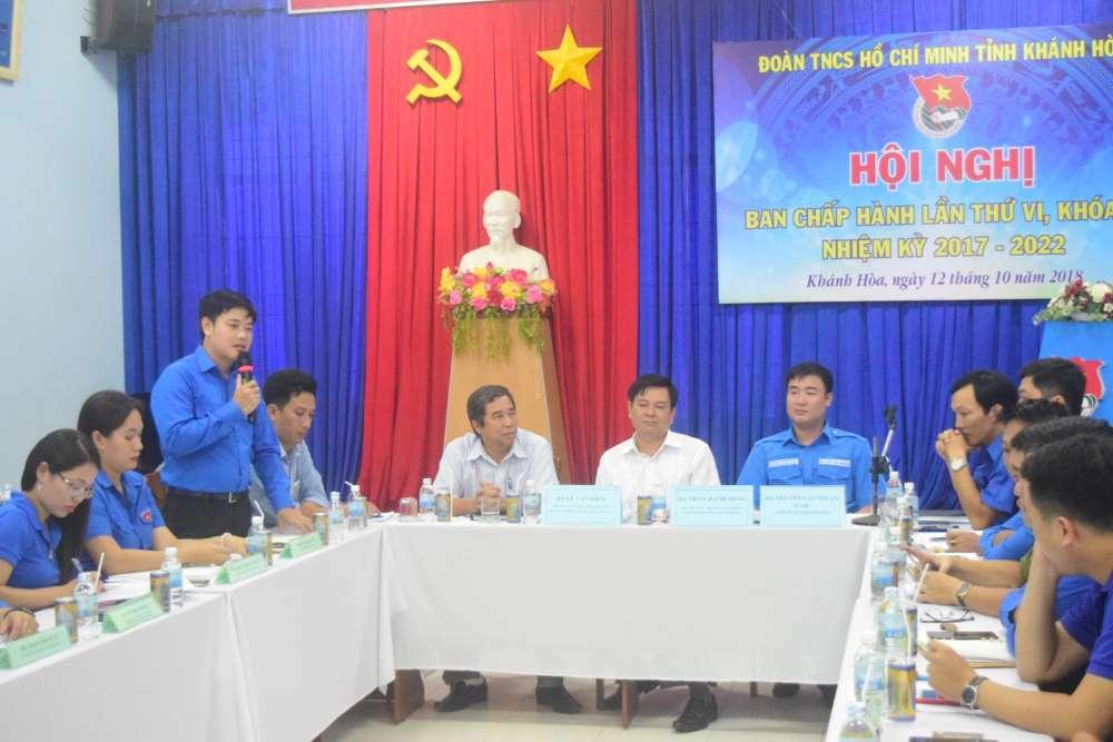 bch a - Đồng chí Bùi Hoài Nam được bầu giữ chức Bí thư Tỉnh đoàn Khánh Hòa