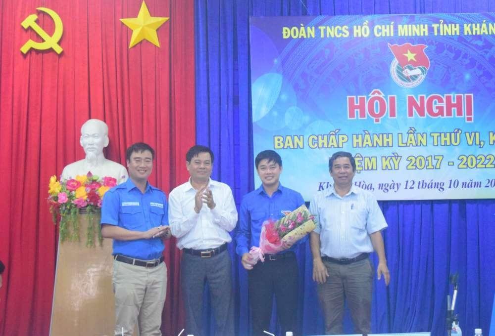 bch - Đồng chí Bùi Hoài Nam được bầu giữ chức Bí thư Tỉnh đoàn Khánh Hòa