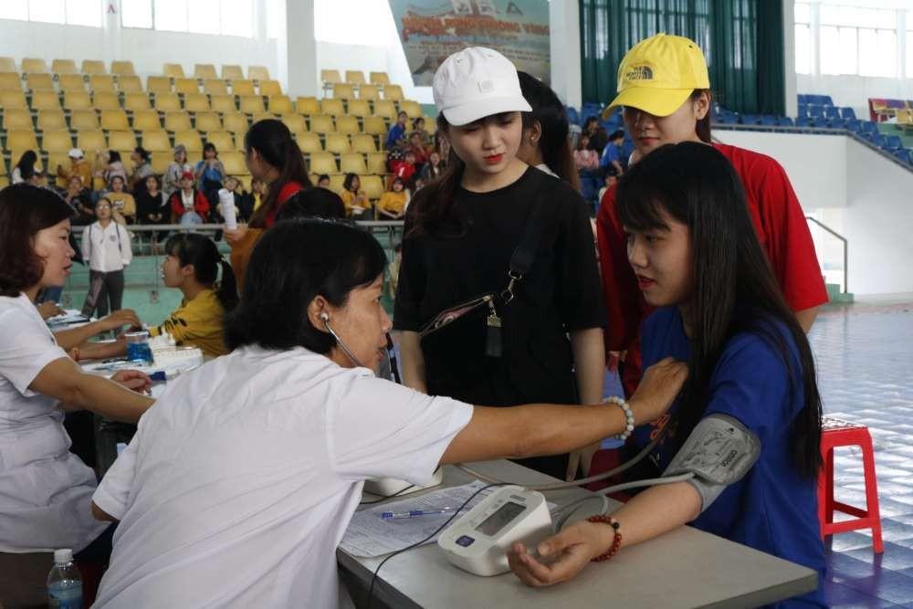 mg 8735 - Đoàn trường CĐSP Trung ương Nha Trang: Hiến máu tình nguyện lần thứ nhất năm học 2018 - 2019