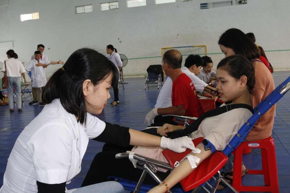 mg 8746 - Đoàn trường CĐSP Trung ương Nha Trang: Hiến máu tình nguyện lần thứ nhất năm học 2018 - 2019