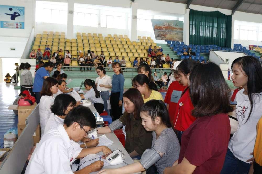 mg 8751 - Đoàn trường CĐSP Trung ương Nha Trang: Hiến máu tình nguyện lần thứ nhất năm học 2018 - 2019