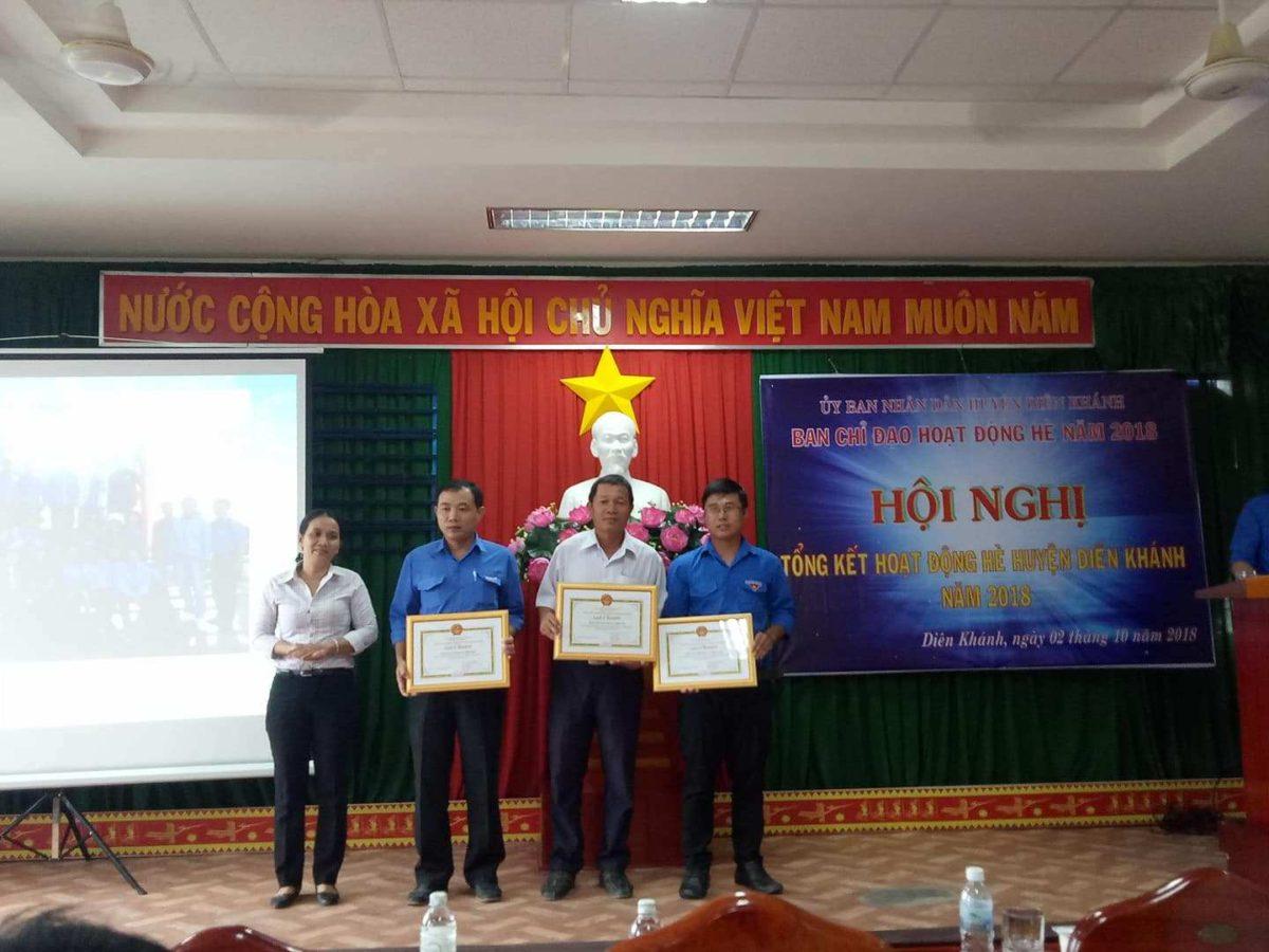 tong ket he dien khanh 2 - DIÊN KHÁNH: Hội nghị tổng kết hoạt động hè năm 2018