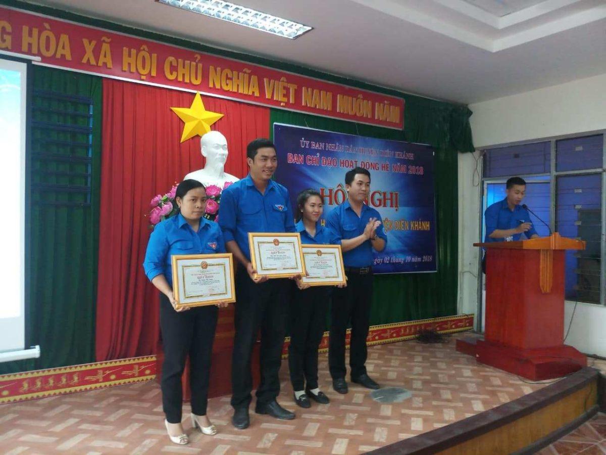 tong ket he dien khanh 3 - DIÊN KHÁNH: Hội nghị tổng kết hoạt động hè năm 2018
