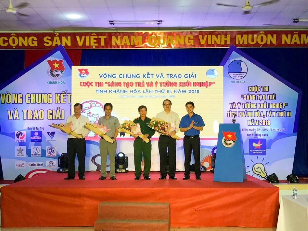 """Tổng kết, trao giải cuộc thi """"Sáng tạo trẻ và ý tưởng khởi nghiệp"""" trong đoàn viên thanh niên tỉnh Khánh Hòa lần thứ III - năm 2018 2"""