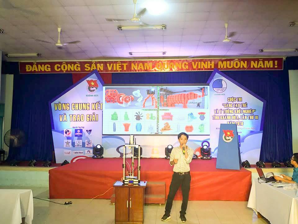 """Tổng kết, trao giải cuộc thi """"Sáng tạo trẻ và ý tưởng khởi nghiệp"""" trong đoàn viên thanh niên tỉnh Khánh Hòa lần thứ III - năm 2018 8"""
