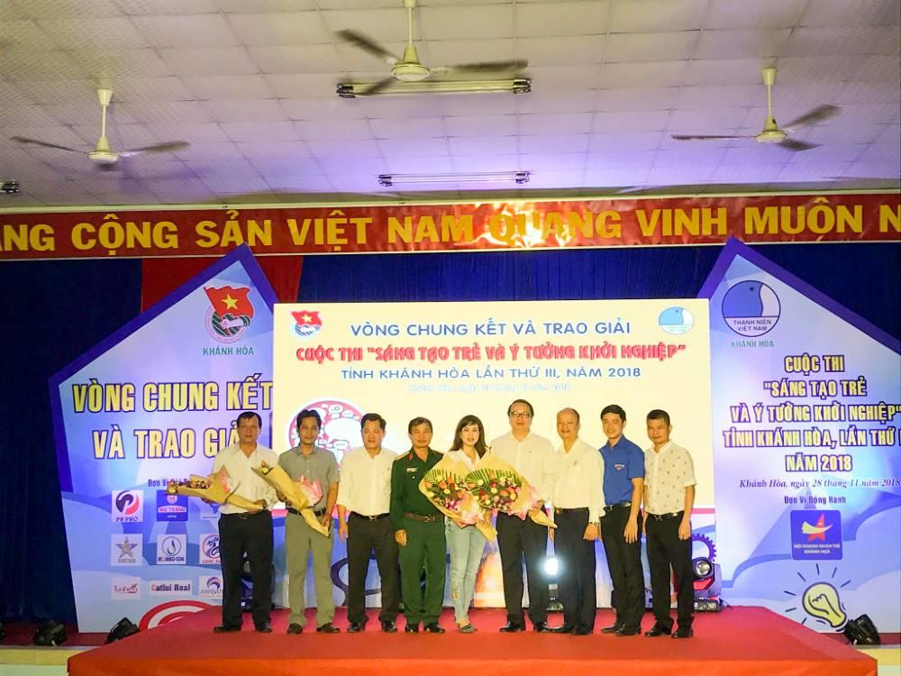 """Tổng kết, trao giải cuộc thi """"Sáng tạo trẻ và ý tưởng khởi nghiệp"""" trong đoàn viên thanh niên tỉnh Khánh Hòa lần thứ III - năm 2018 3"""