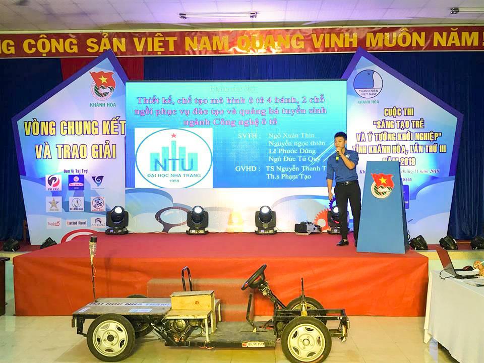 """Tổng kết, trao giải cuộc thi """"Sáng tạo trẻ và ý tưởng khởi nghiệp"""" trong đoàn viên thanh niên tỉnh Khánh Hòa lần thứ III - năm 2018 11"""