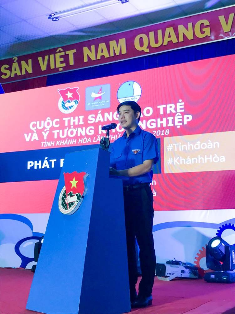 """Tổng kết, trao giải cuộc thi """"Sáng tạo trẻ và ý tưởng khởi nghiệp"""" trong đoàn viên thanh niên tỉnh Khánh Hòa lần thứ III - năm 2018 1"""